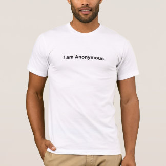 Mig anonym förmiddag t shirt