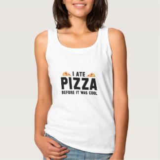 Mig åtPizza, för den var kall Linne