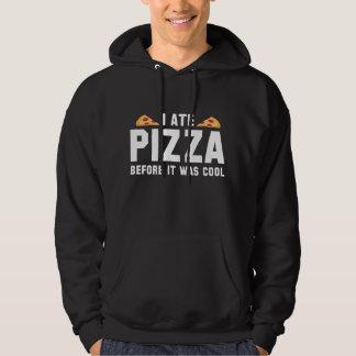 Mig åtPizza, för den var kall Munkjacka