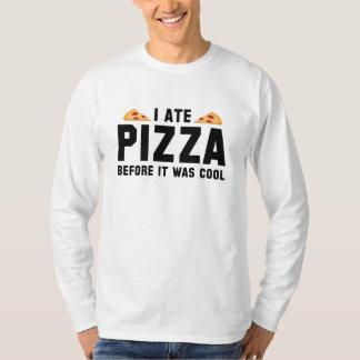 Mig åtPizza, för den var kall T Shirt