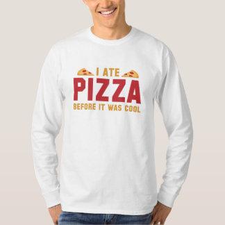 Mig åtPizza, för den var kall T-shirt