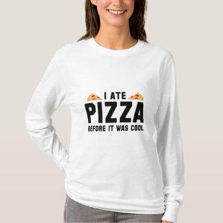 Mig åtPizza, för den var kall Tee Shirt