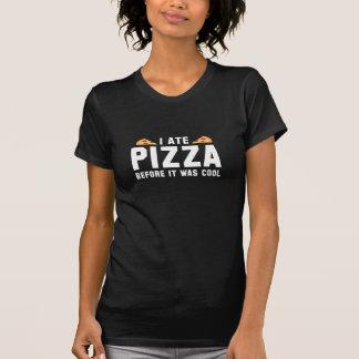 Mig åtPizza, för den var kall Tröjor