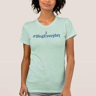Mig #BlogEveryday skjorta - ingen TwitterUsername T-shirts