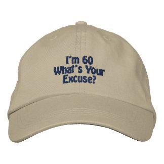 Mig broderad hatt för förmiddag 60