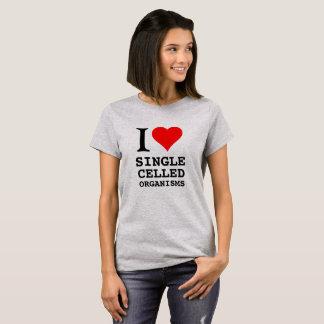 Mig celled organisms. för hjärtasingel t-shirts