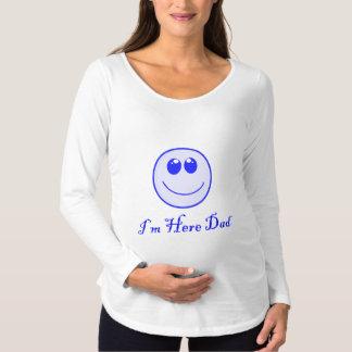 Mig för förmiddag pappa här t shirt