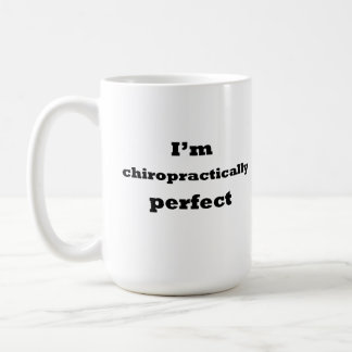 Mig för förmiddag perfekt chiropractically kaffemugg