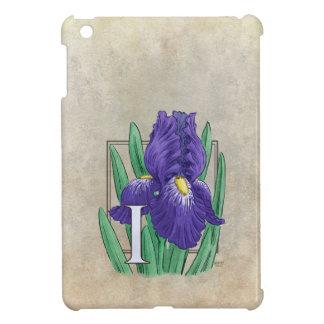 Mig för IrisblommaMonogram iPad Mini Mobil Skal