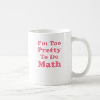 Mig för nätt förmiddag som gör Math Kaffe Muggar