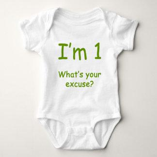 Mig förmiddag 1 vad är din ursäkt? 1st t-shirt