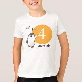 Mig förmiddag 4 gammala år tee shirt