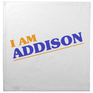 Mig förmiddag Addison Tygservett