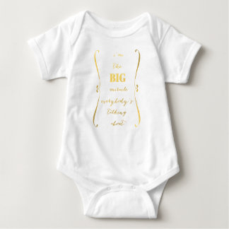 Mig förmiddag den STORA mirakel… bebist-skjortan T Shirts