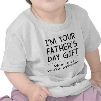 Mig förmiddag din fars daggåvaranka tshirts