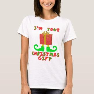 Mig förmiddag din julgåva t shirts