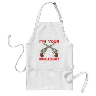 Mig förmiddag dina vapen för Huckleberry 6 Förkläde