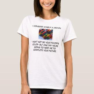 Mig förmiddag en Crayon T-shirt
