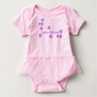 """""""Mig förmiddag en dräkt för Princess"""" baby T Shirts"""