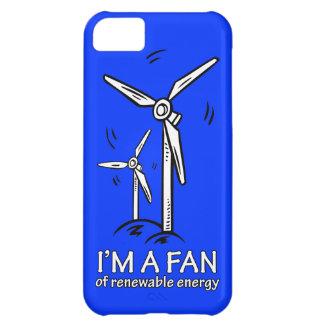 Mig förmiddag en fläkt av förnybar energi iPhone 5C fodral