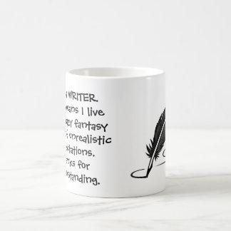 Mig förmiddag en författaremugg kaffemugg