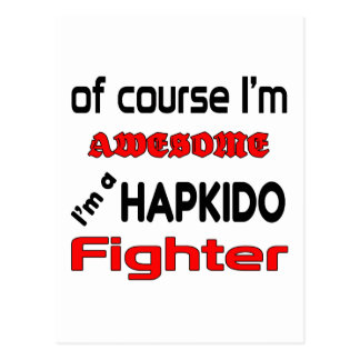 Mig förmiddag en Hapkido kämpe Vykort