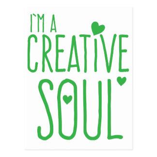 Mig förmiddag en idérik Soul Vykort