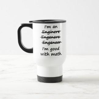 Mig förmiddag en ingenjör mig förmiddagbra på Math Resemugg