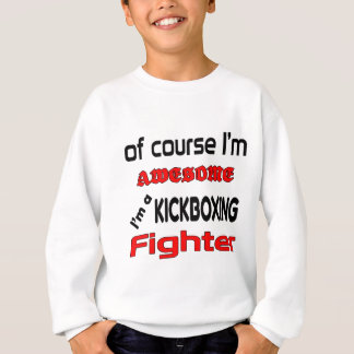 Mig förmiddag en Kickboxing kämpe Tee Shirt