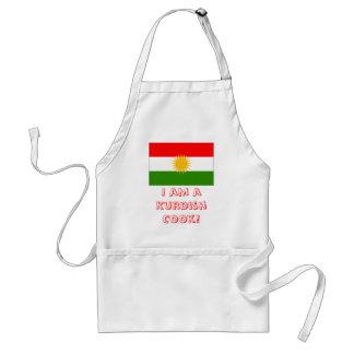 Mig förmiddag en Kurdish kock! Förkläde