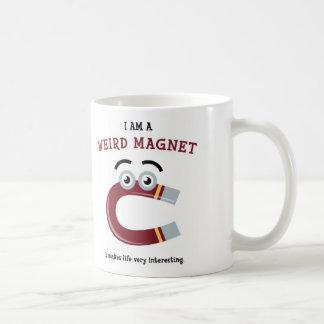 Mig förmiddag en kuslig magnetmugg kaffemugg