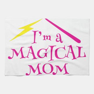 Mig förmiddag en MAGICAL mamma! med Kökshandduk