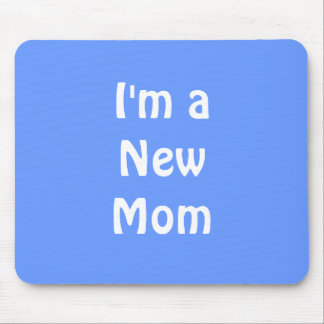 Mig förmiddag en ny mamma. Blått Musmatta