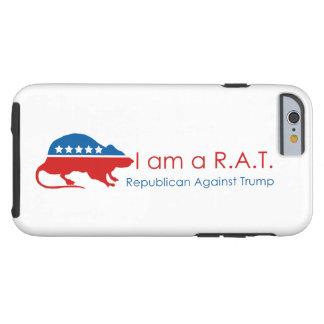 Mig förmiddag en R.A.T: Republikan mot trumf Tough iPhone 6 Fodral