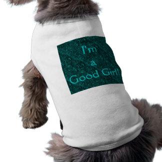 Mig förmiddag en Retro krickahund T-Sthirt för bra Långärmad Hundtöja