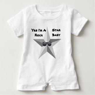 Mig förmiddag en rockstjärnababy, babyRomper T-shirts