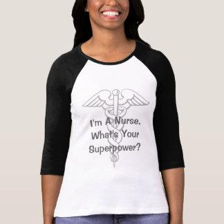 Mig förmiddag en sjuksköterska vad är din skjorta t-shirts