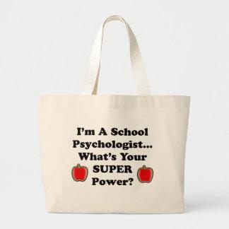 Mig förmiddag en skolapsykolog jumbo tygkasse