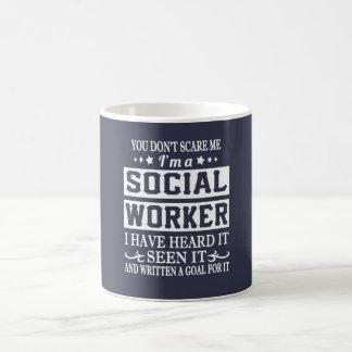 Mig förmiddag en SOCIALARBETARE Kaffemugg