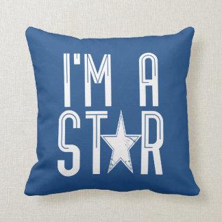 Mig förmiddag en stjärna kudde
