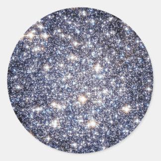 Mig förmiddag en stjärna | universum vid herr nya runt klistermärke