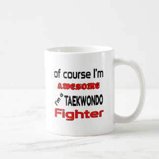 Mig förmiddag en Taekwondo kämpe Kaffemugg