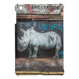 Mig förmiddag en Unicorn, Shoreditch grafitti iPad Mini Mobil Skal