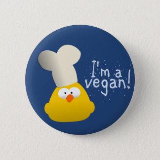 mig förmiddag en vegan standard knapp rund 5.7 cm