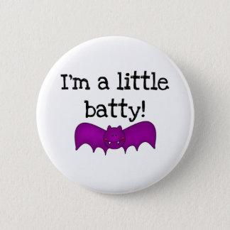 Mig förmiddag ett lite Batty Standard Knapp Rund 5.7 Cm