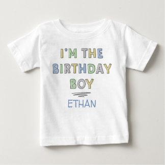 Mig förmiddag födelsedagpojken - personlig t-shirts