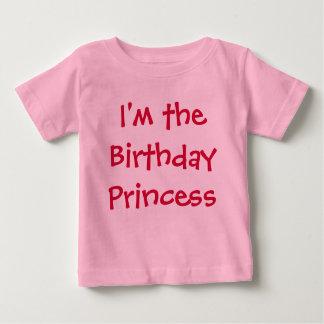 Mig förmiddag födelsedagprincessen t-shirt