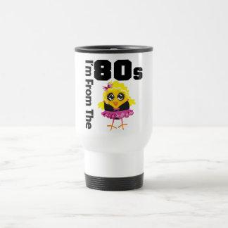 Mig förmiddag från 80-talchicken kaffe kopp