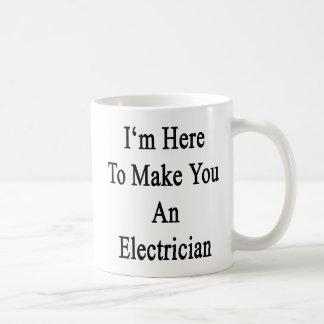 Mig förmiddag här som gör dig en elektriker kaffemugg