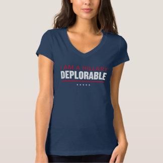 """I Am a Hillary Deplorable"" Trump Women's T-shirt"